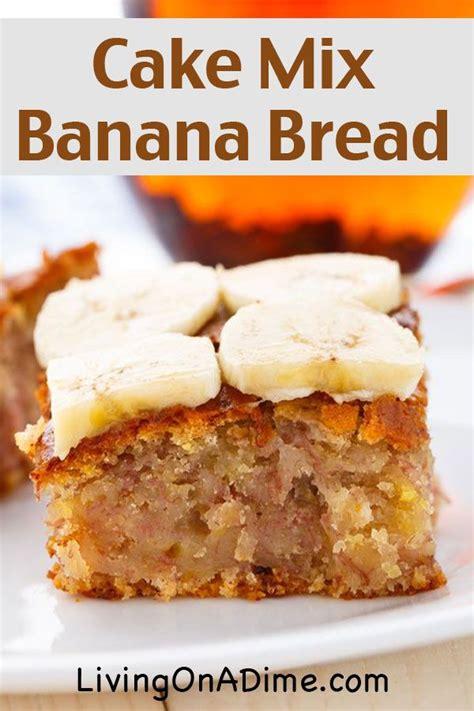 Premix Banana Cake 1kg banana bread with cake mix and pudding