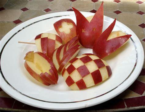 decorative apple cutting decoration just bento
