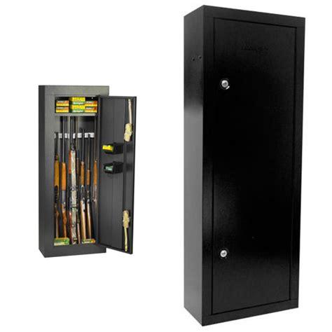 8 gun steel security cabinet black homak hs30103660