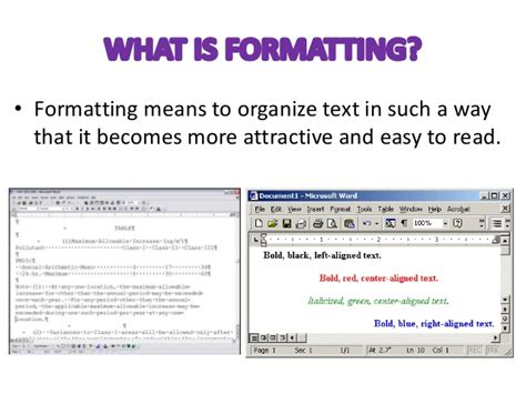format cd text text formatting in ms w ord