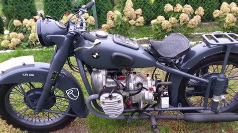 Bmw R71 by Bmw R71 Exhaust Test Engine Antique