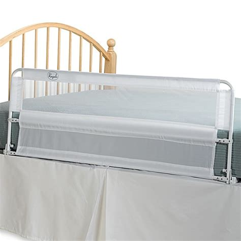 bed rail hide away extra long 54 inch portable bed rail by regalo