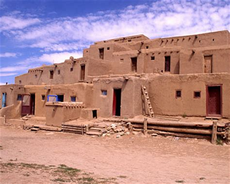 pueblo houses herndonapush the western tribes