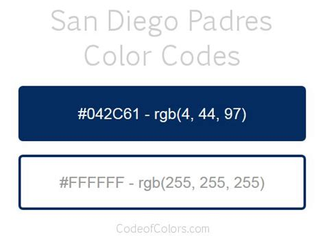 san diego padres colors 30 best mlb team colors images on coding
