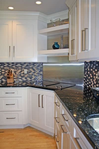 Easy To Clean Kitchen Backsplash 17 Best Images About Kitchens On Pinterest Stove White Cabinets And Cabinets