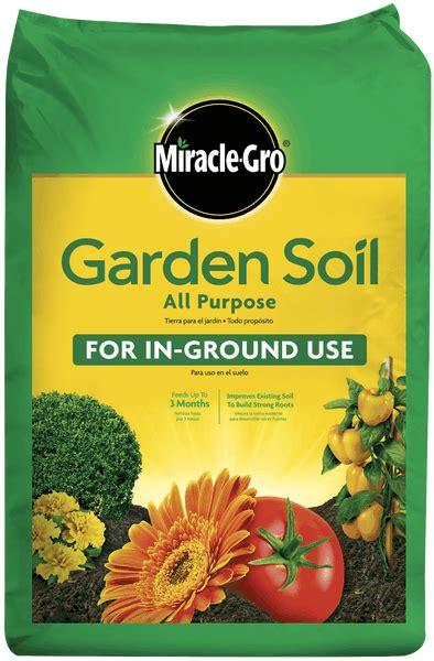 miracle gro  purpose garden soil soils miracle gro