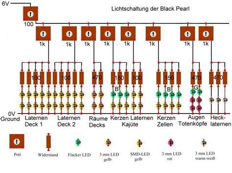 modellbahn beleuchtung anleitung black pearl bausatz die beleuchtung rund um den
