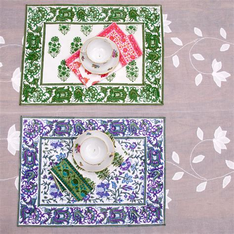 Handmade Table Linens - indian table linens decorative handmade table covers