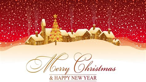 imagenes merry christmas and happy new year fondo de pantalla merry christmas and happy new year snow hd