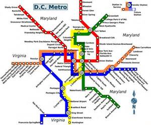 Metro Dc Map by Map Of Washington Dc Metro World Easy Guides