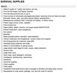 The complete bug out bag system