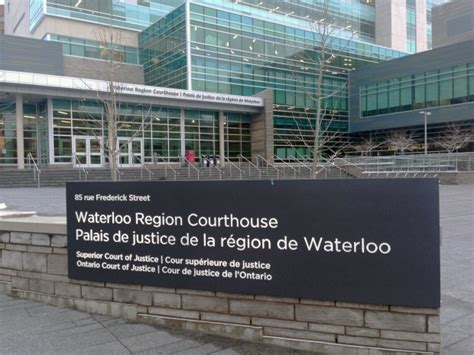 Kitchener Courthouse by Term Care Convicted Of Theft Other Charges