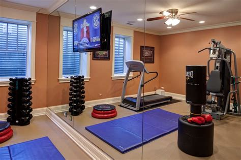 image gallery home gym design layout