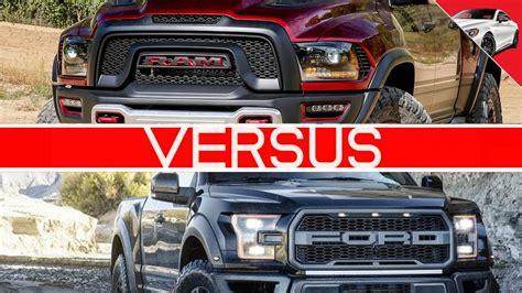Ram Rebel Trx Vs Ford Raptor by 2017 Ram Rebel Trx Vs 2017 Ford Raptor