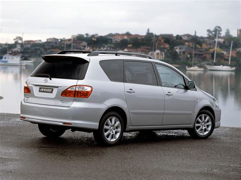 Toyota Avensis Verso Engine Toyota Avensis Verso 2003 2004 2005 2006 Autoevolution