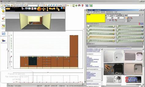 software progettazione cucina master design progettazione di una cucina lineare by www
