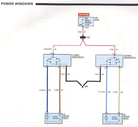 power window lift motor wiring window free