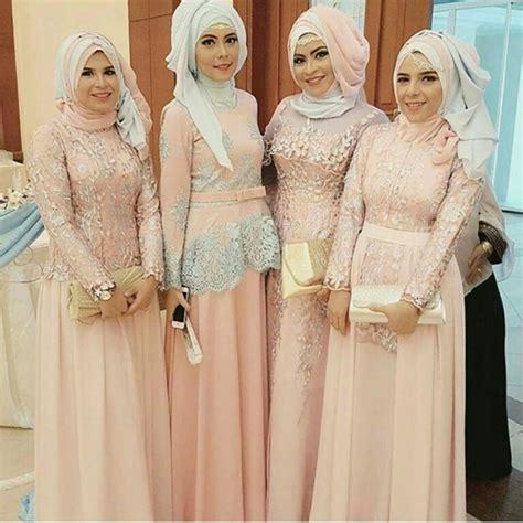 Gamis Anak 6 9 Tahun Brukat Abu Gold Pink 1 Model Kebaya Seragam Trend 2018 Untuk Pernikahan Acara