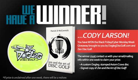 Disc Golf Giveaway - 187 zen disc golf giveaway dogleg disc golf