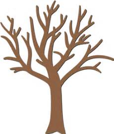 Bare tree outline free coloring pages on masivy world