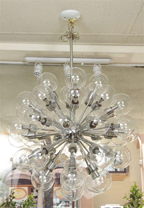 Vintage Lightolier Chandelier Vintage 43 Globe Sputnik Chandelier By Lightolier For Sale At 1stdibs
