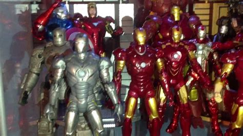 updated bryans hall armor iron man collection youtube