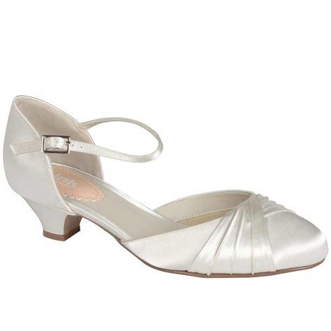 Chaussures mariage petit talon Protea   Instant Précieux