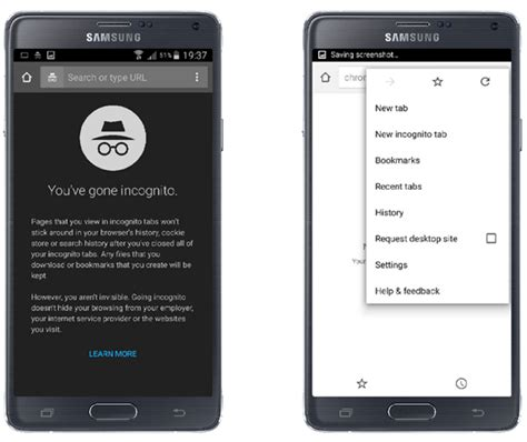 incognito mode android how to enable incognito mode on android