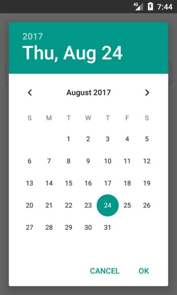 react native android tutorial windows react native common datepicker for android and ios exle
