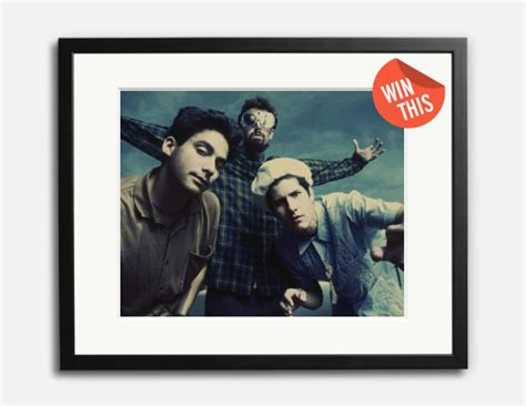 Sonic Giveaway - giveaway sonic editions beastie boys framed print closed cool material