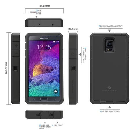 Samsung Galaxy Sekarang zerolemon zero shock samsung galaxy note 4 battery charging 10000mah with nfc belt clip
