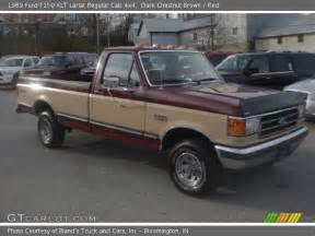 1989 Ford F150 4x4 Chestnut Brown 1989 Ford F150 Xlt Lariat Regular