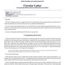 circular letter format zurich switzerland pearltrees