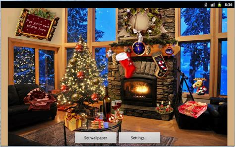 google images christmas scenes christmas fireplace lwp full android apps on google play