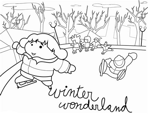 free coloring pages winter scenes printable winter scene coloring pages coloring home