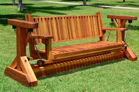 glider swing seat two seat adirondack swing wood adirondack gliders