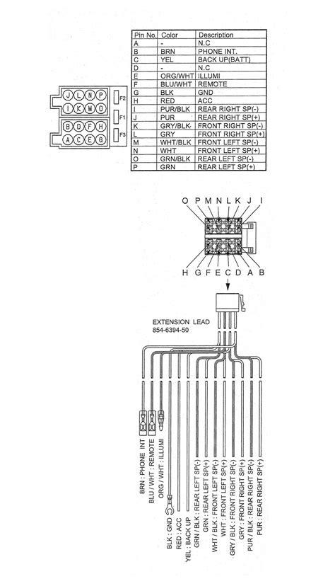 clarion radio wiring diagram code free wiring