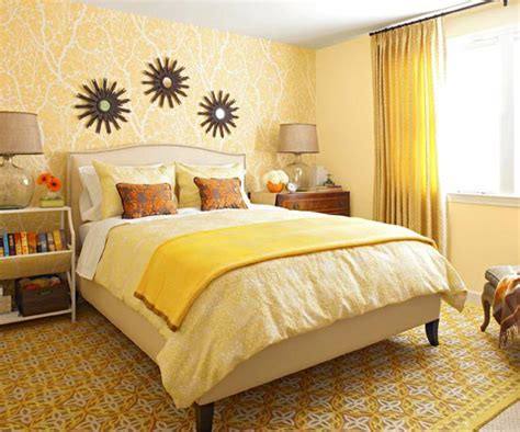 Yellow Colour In The Bedroom Modern Furniture 2011 Bedroom Decorating Ideas With