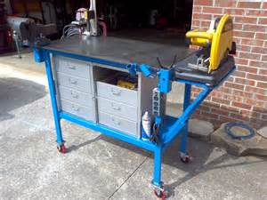 welding table designs lets see your workbench page 26 the garage journal