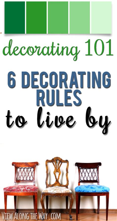 decorating rules rules of decorating home design
