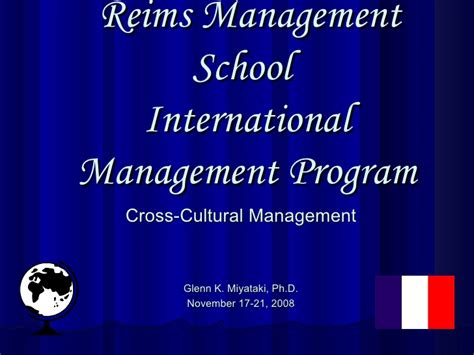 Cross Cultural Management 1 2008 rms cross cultural management