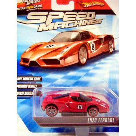 Hw Enzo Speed Machine Hotwheels Miniatur Diecast wheels speed challenge enzo global diecast