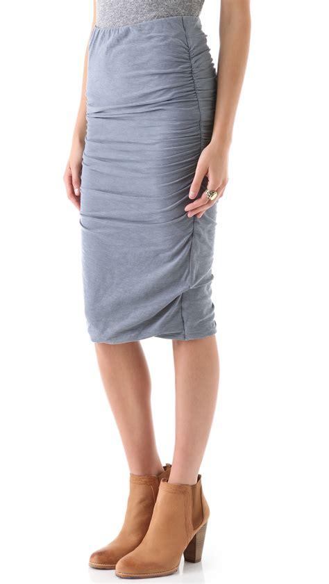 ruched pencil skirt dress ala