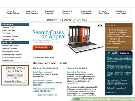 Access Court Records How To Access Court Records Electronically 10 Steps