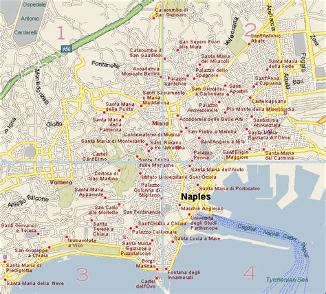 naples italy map maps of naples