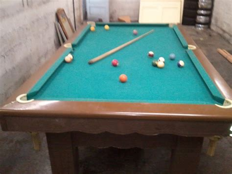 8 slate pool table 4 x 8 slate pool table from pool hall trade classic car