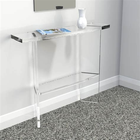 clear acrylic console acrylic console friendly acrylic console