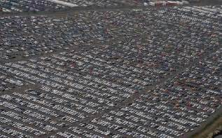 where the world s unsold cars go to die zero hedge