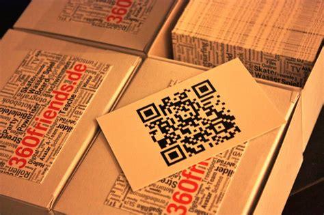 Visitenkarten Mit Qr Code Drucken by Flyer Im Visitenkarten Format 360 176 Friends