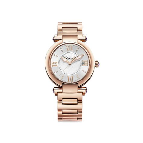 Chopard Cp1376 Rosegold chopard imperiale 18 karat gold 36mm